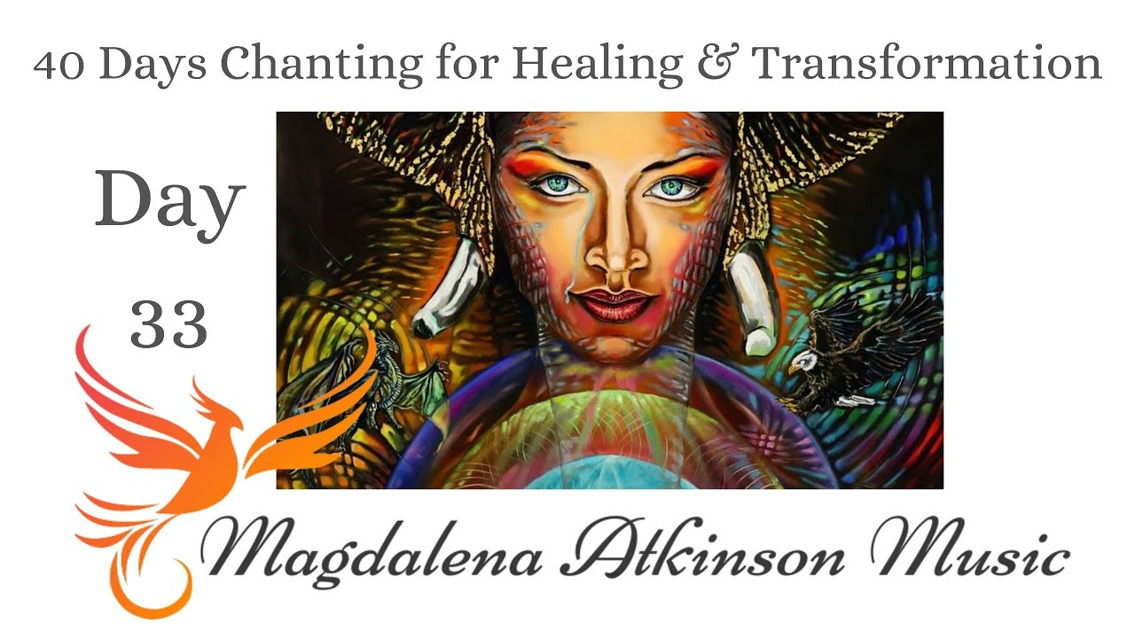 Day 33 - I surrender + New Moon Chanting via Zoom - 40 days chanting for healing and transformation