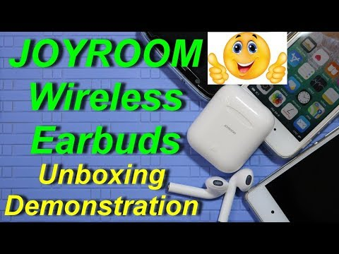 Joyroom Wireless Earbuds Unboxing Demonstration