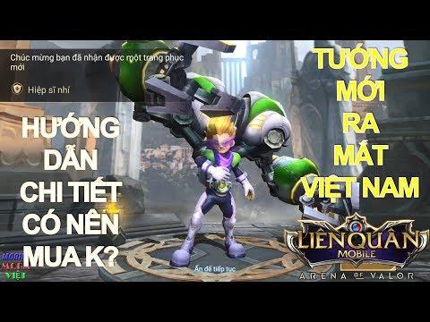 Tướng mới sắp ra mắt: MAX Hiệp sĩ Nhí Gank khắp mọi nơi - Hướng dẫn chơi và lên đồ Max Liên quân