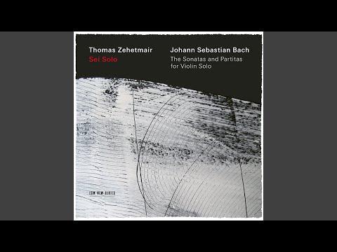 J.S. Bach: Partita for Violin Solo No. 1 in B Minor, BWV 1002 - 1. Allemanda
