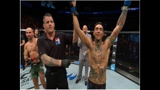 BREAKING! Andre 'Touchy' Fili Upsets Cageside Conor McGregor, Almost KO's Artem Lobov in Lopsided W
