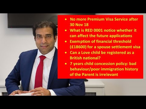 UK Immigration Updates with Khalid Bashir  11 Nov 2018 ,11 07 14, Abbott & Harris Solicitors