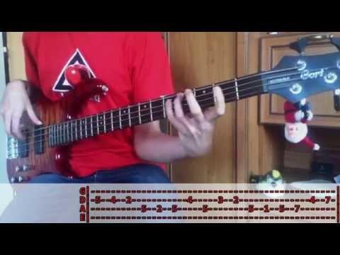 Slade - Merry Christmas Everybody (Christmas Bass Cover)