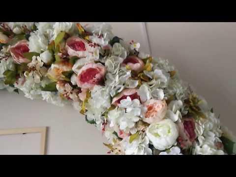 Свадебные арки своими руками мастер класс видео