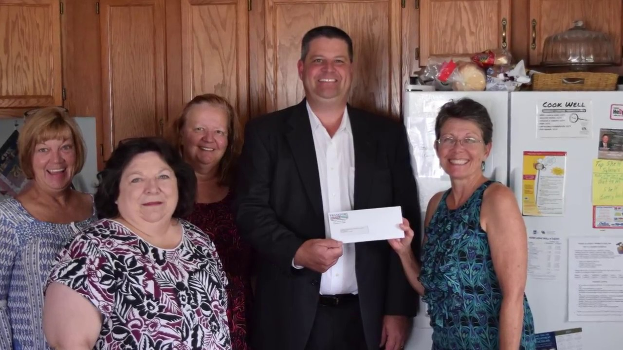 Frankfort toyota donation to women s shelter
