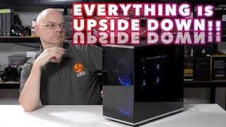 SilverStone SST LD01B Lucid - The UPSIDE DOWN case !!!