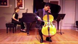 Elgar Cello Concerto 1st Mvt, Ian Chen (Cello and Piano)