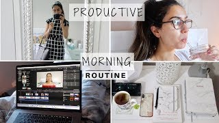 PRODUCTIVE 5AM MORNING ROUTINE | CORPORATE 9-5 JOB | GET READY WITH ME FOR WORK | bySanjna