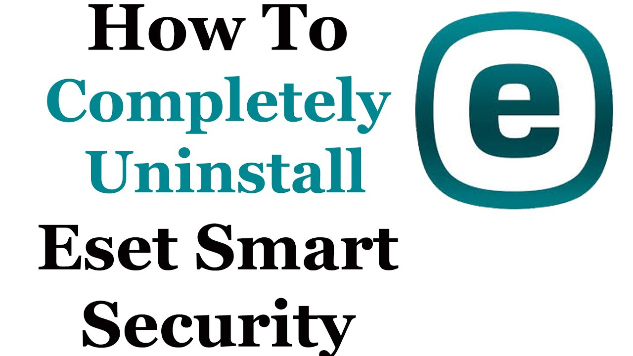 how to uninstall eset smart security 9