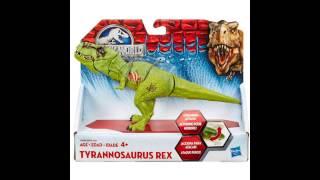 Jurassic World toy news..?? Stomp and strike T Rex?!!