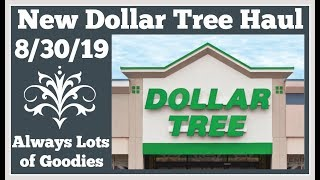 New Dollar Tree Haul 🤑 8/30/19 More great finds
