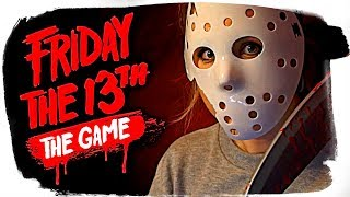 🔴 ДАША И БРЕЙН ИГРАЮТ В FRIDAY THE 13TH THE GAME