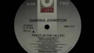 Sabrina Johnston - Peace (In The Valley) (Original Stomp Mix)