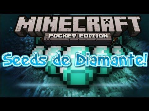 Minecraft PE 0.8.1   Seeds de Diamantes