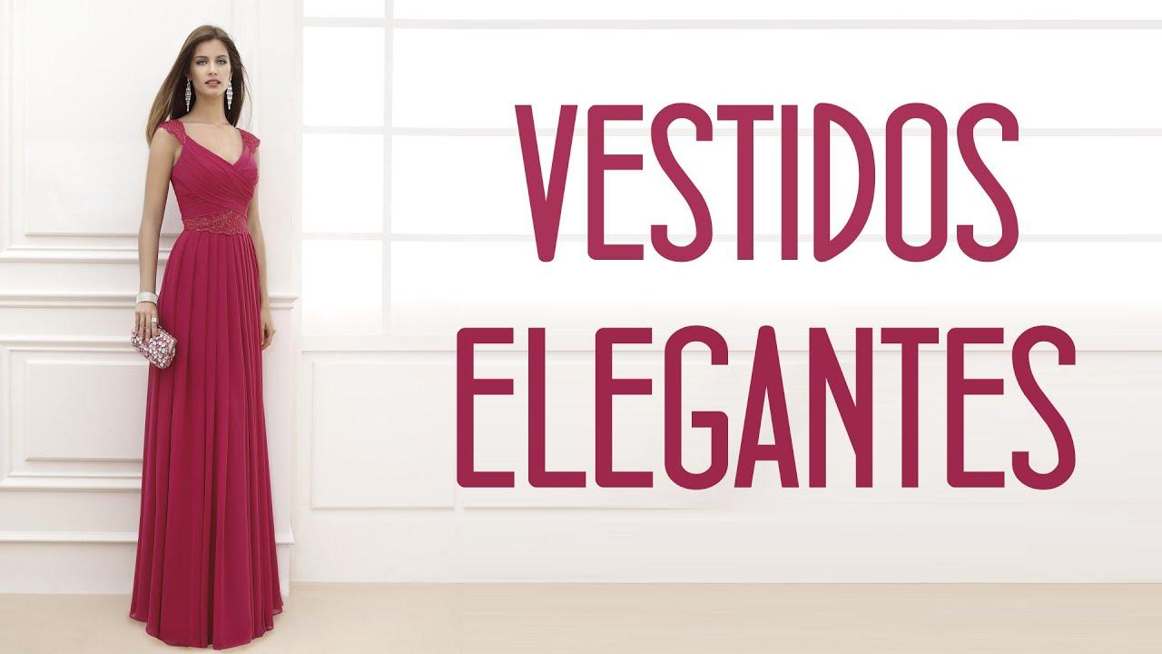 Vestidos Elegantes: ¡Perfectos para cualquier ocasión! - YouTube
