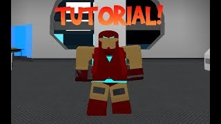 ROBLOX | Superhero Life II | IRON MAN MARK 85 TUTORIAL!! (ENDGAME!!!)
