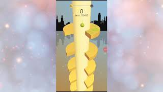 Моё первое видео! Покупаем последний игровой скин в игре «Helix Jump»!№1