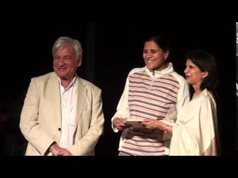Indore artists receiving awards - 18