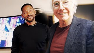 Met Larry David and it was pretty, pretty, pretty good...