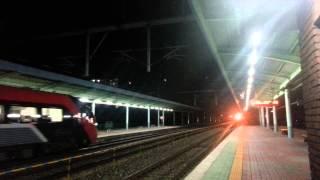 김천역열차