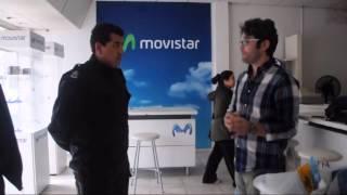 Movistar: un reclamo que terminó con la policia