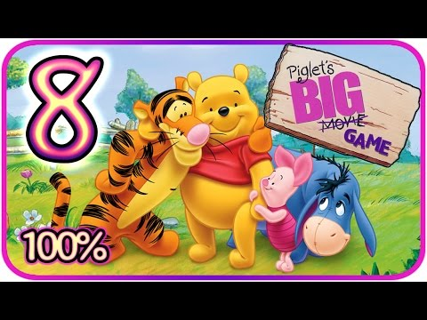 Piglet's Big Game Walkthrough Part 8 (PS2, Gamecube) Rabbit's Dream Part 1 [100% - HD]