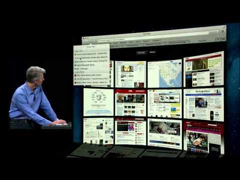 Apple WWDC 2012 Keynote Pt. 3: OS X Mountain Lion