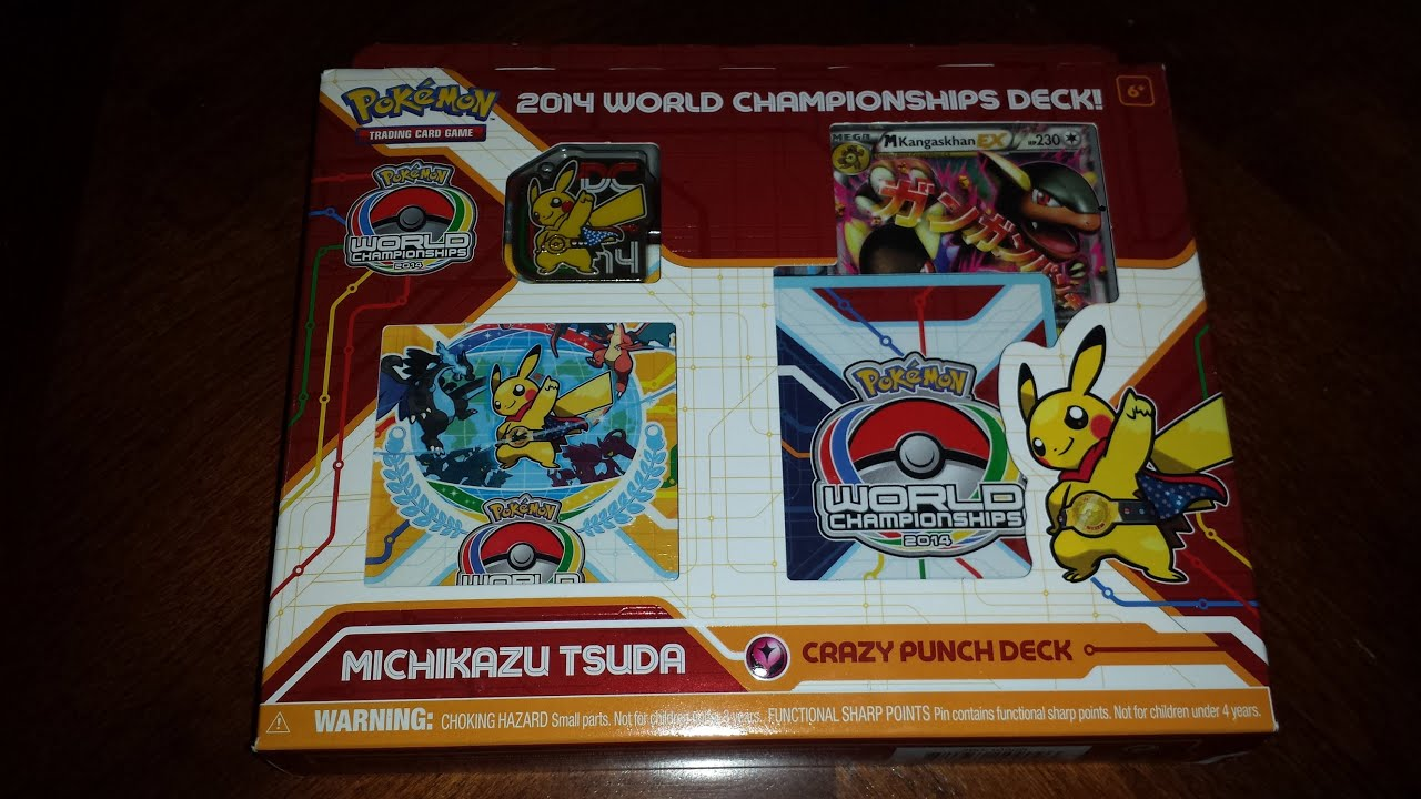 Pokemon World Championship 2014 Deck Opening - Michikazu Tsuda - Crazy Punch