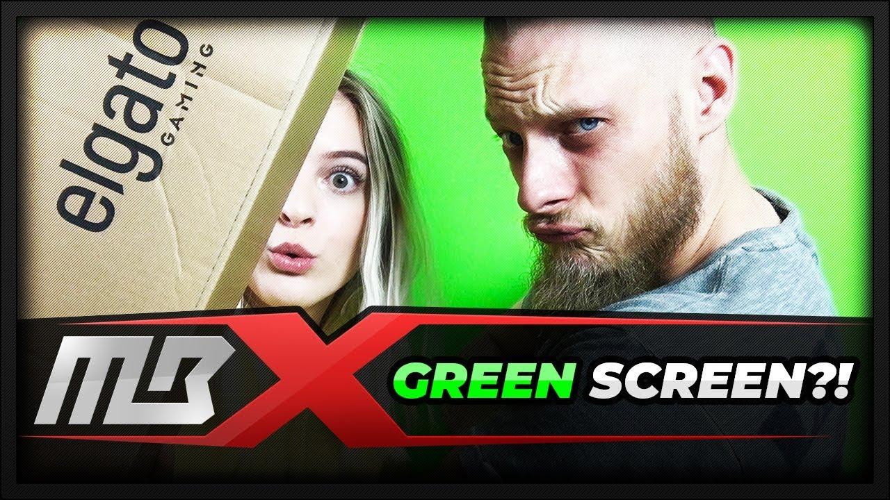[LIVESTREAM] – GREEN SCREEN? LIGHTNING? – CHROMA KEY PANEL & SOFTBOX  LIGHTING – UNBOXING!