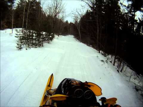 GoPro Snowmobile Chase
