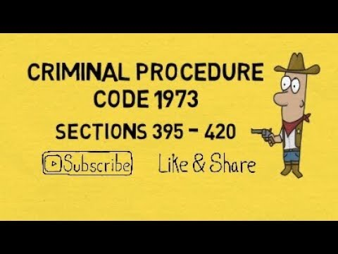 Important Sections Criminal Procedure Code in Hindi Section 395 to 420 - Lecture Part 9