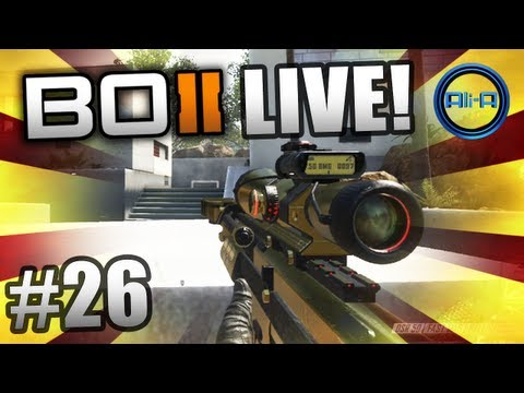 """""""Ali-A SNIPES!"""" - BO2 LIVE w/ Ali-A #26 - (Call of Duty: Black Ops 2 Multiplayer Gameplay)"""
