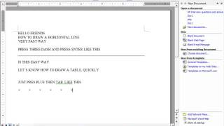 comptuer tips & tricks ms word tips