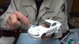 なべさんのプラモデル製作記 グッドスマイル 初音ミク Z4 2014 SUPER GT Rd.2 Fuji 優勝車 (2)