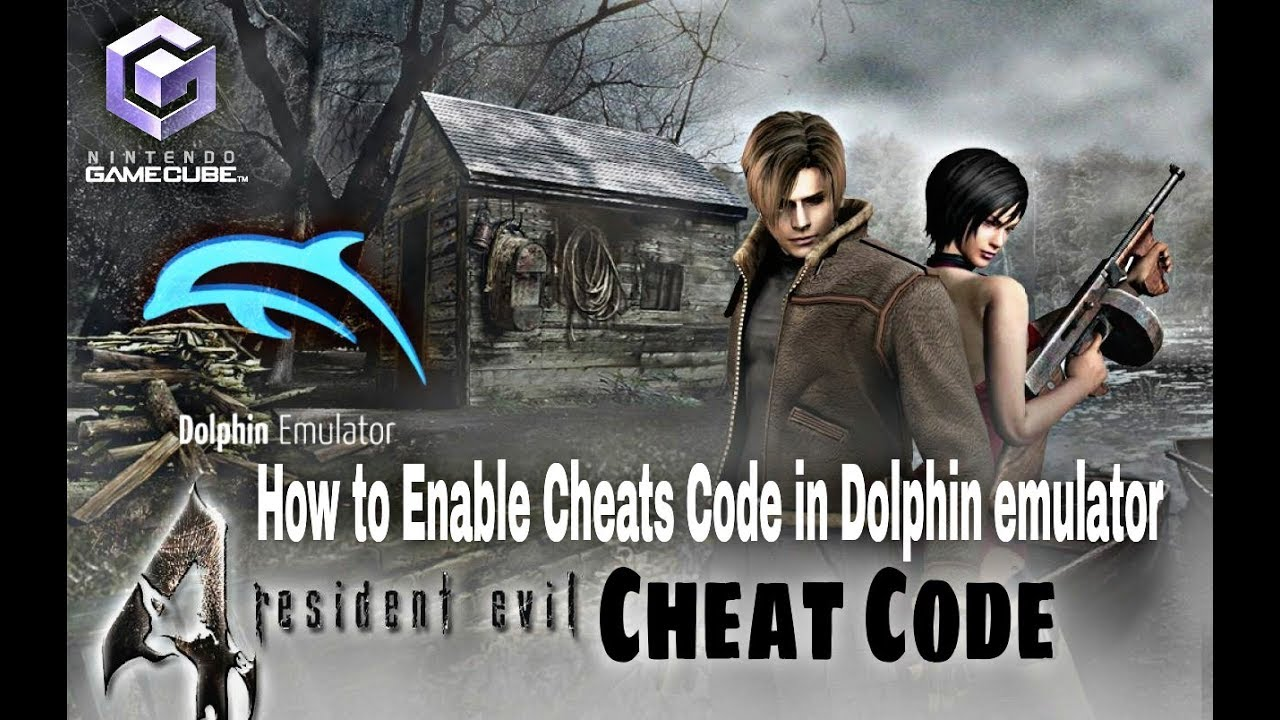 How To Enable Cheats Code In Dolphin Emulator Resident Evil 4