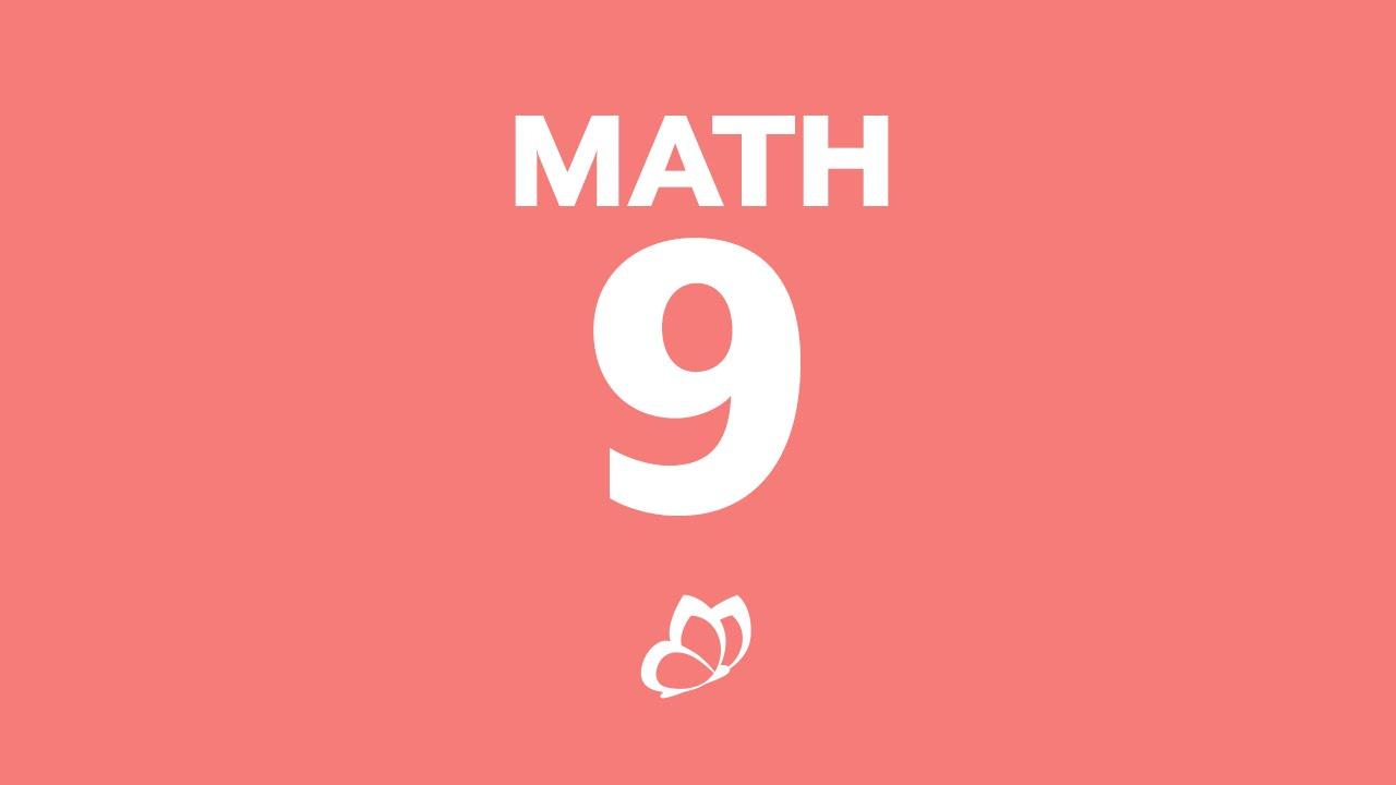 Monarch 9th Grade Math