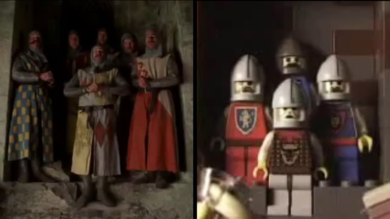Knights Of The Round Table (Monty Python) Lego Comparison