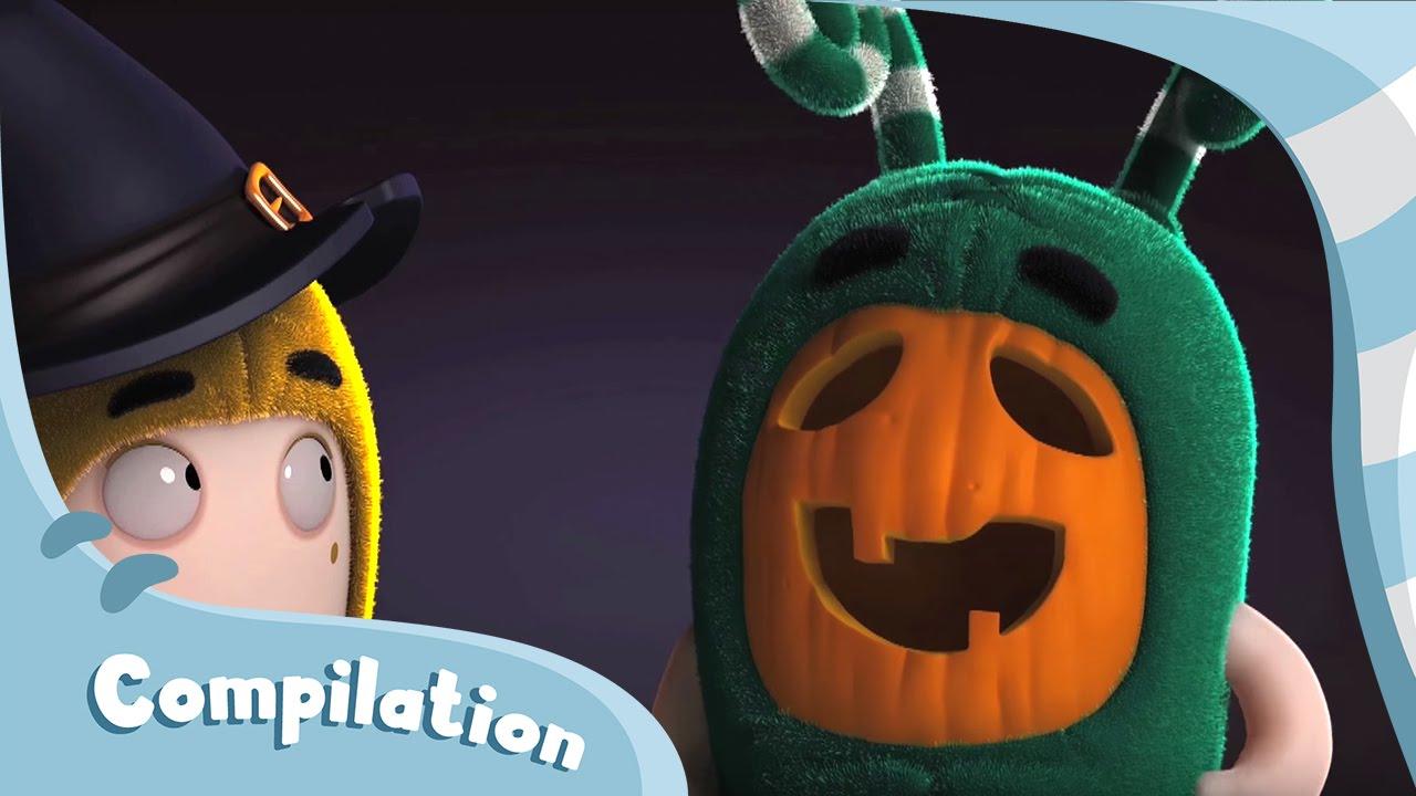 Oddbods | Halloween Compilation