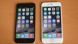 iPhone 6 white versus black hands-on