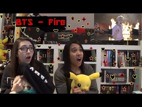 BTS - Fire Reaction