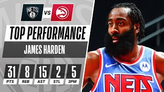 James Harden Drops 31 PTS & 15 AST In OT W!