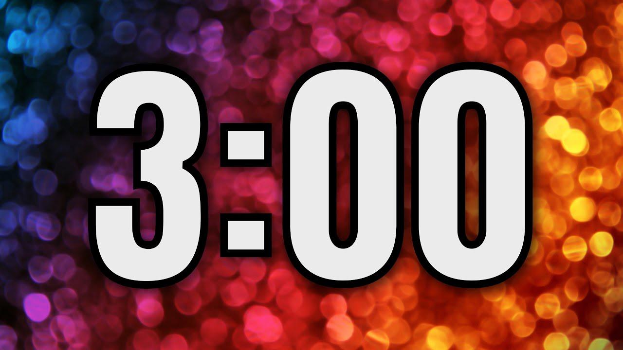 3 minute timer  u23f2 ufe0f