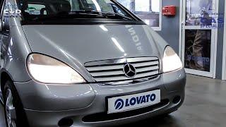 Montaż instalacji gazowej Mercedes A160 102KM (75kW) Lovato SMART ExR