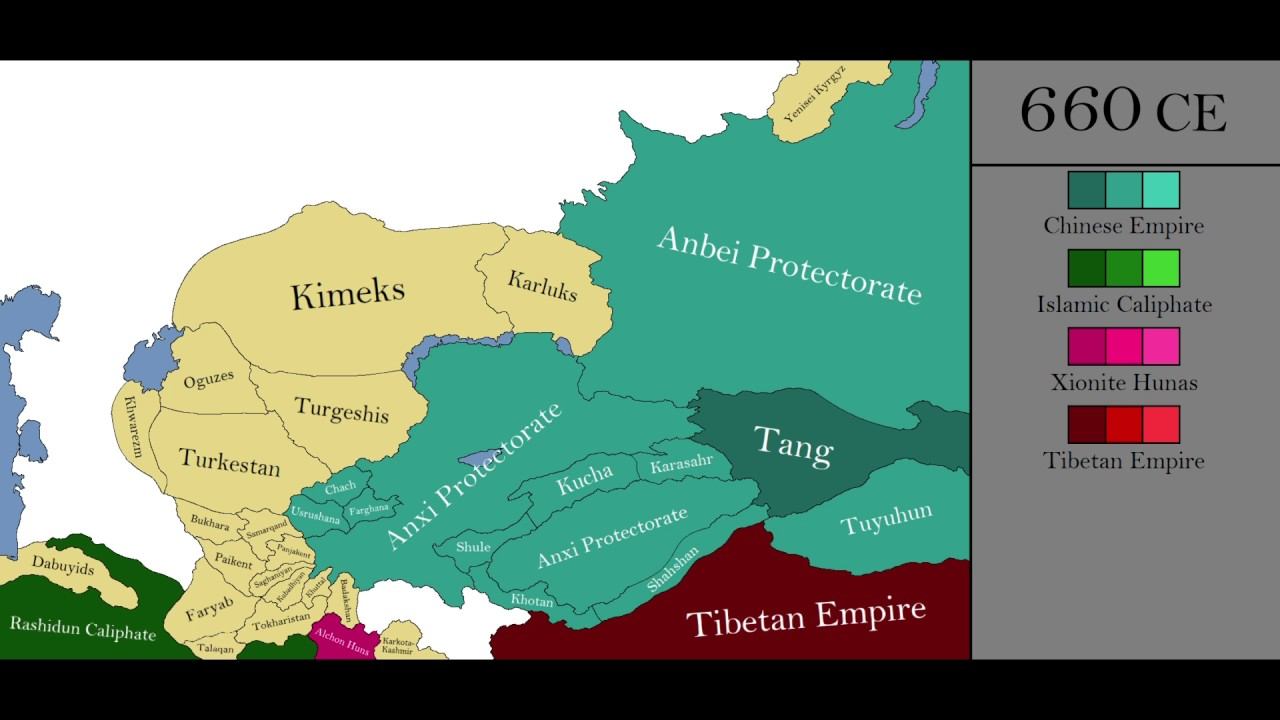 The History of Central Asia: Every Year - YouTube