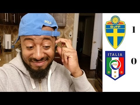 Italy Will Miss 2018 FIFA WORLD CUP? Sweden Vs Italy 1-0 Reaction