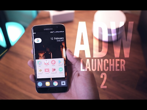 The Best Android Launcher? [ADW Launcher 2]