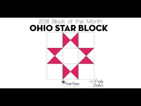 Stellar Stars Ohio Star Block