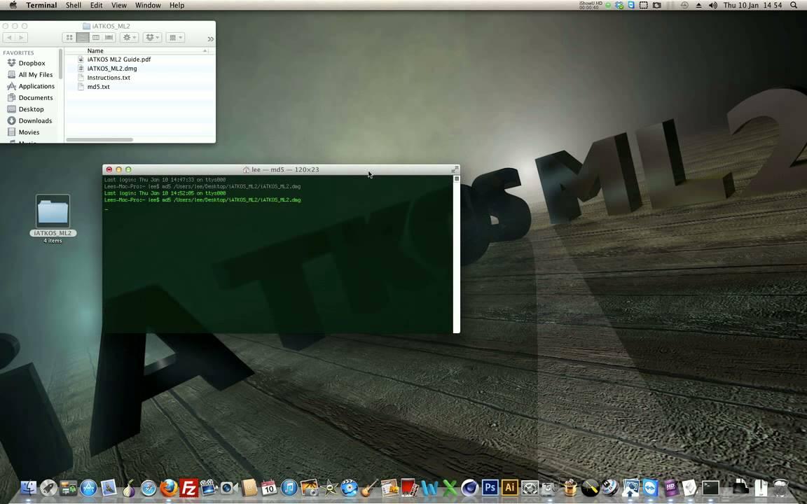 MAC X ISO IATKOS 10.7.2 L2 TÉLÉCHARGER LION OS