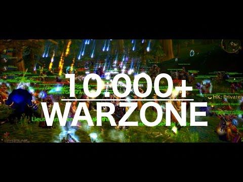"World Of Warcraft PvP ""WAR ZONE"" CINEMATIC 10k+ people - Nostalrius/Elysium"