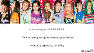 [3.11 MB] Momoland - Very Very [Color Coded Lyrics - HAN/ROM/ENG]